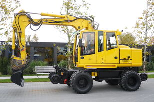 ATLAS Road-rail excavator Atlas 1404ZW excavadora de ruedas