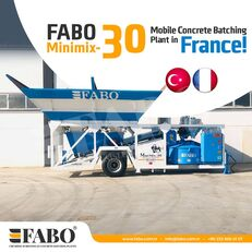 FABO MINIMIX-30M3/H MINI CENTRALE A BETON MOBILE planta de hormigón nueva