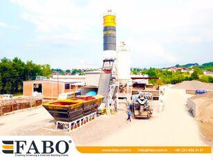 FABO SKIP SYSTEM CONCRETE BATCHING PLANT | 60m3/h Capacity planta de hormigón nueva