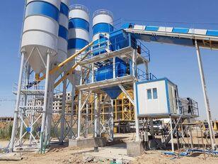 Plusmix 130 m³/hour СТАЦИОНАРНЫЙ БЕТОННЫЙ ЗАВОД  - Stat planta de hormigón nueva