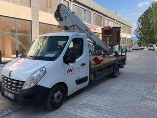 RENAULT master plataforma sobre camión