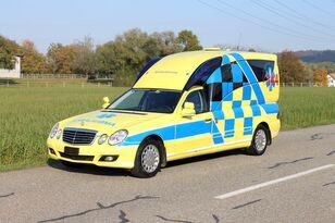 MERCEDES-BENZ E280 hochlang BINZ ambulancia