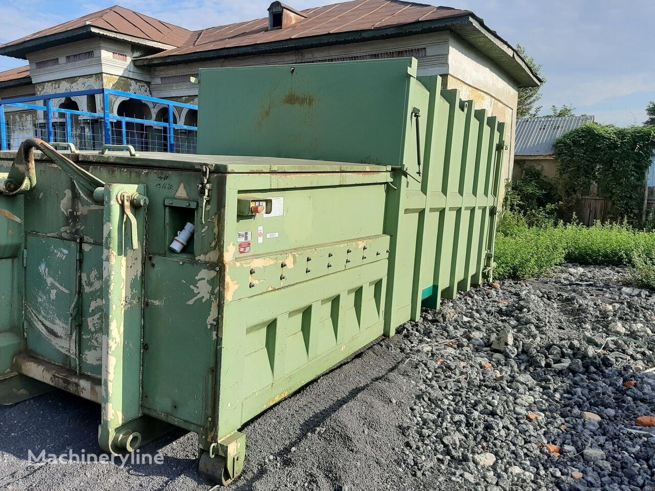 ABC Abrollkipper  contenedor compactador