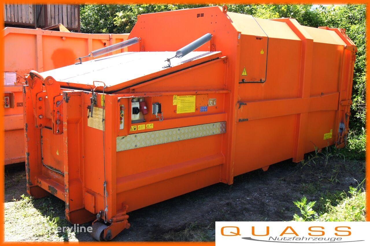 WERNER & WEBER 5x Müllpresscontainer 18 m³/Müllpresse/Container contenedor compactador